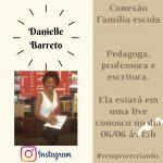 Live com a escritora Danielle Barreto